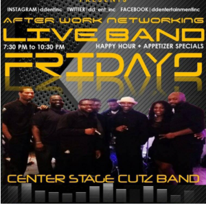 Center Stage Cutz Band - Top 40 Band in Montclair, New Jersey