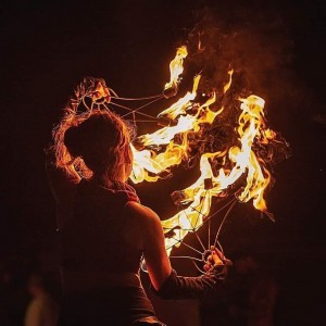 Cerrami - Fire Dancer in Plymouth, Michigan