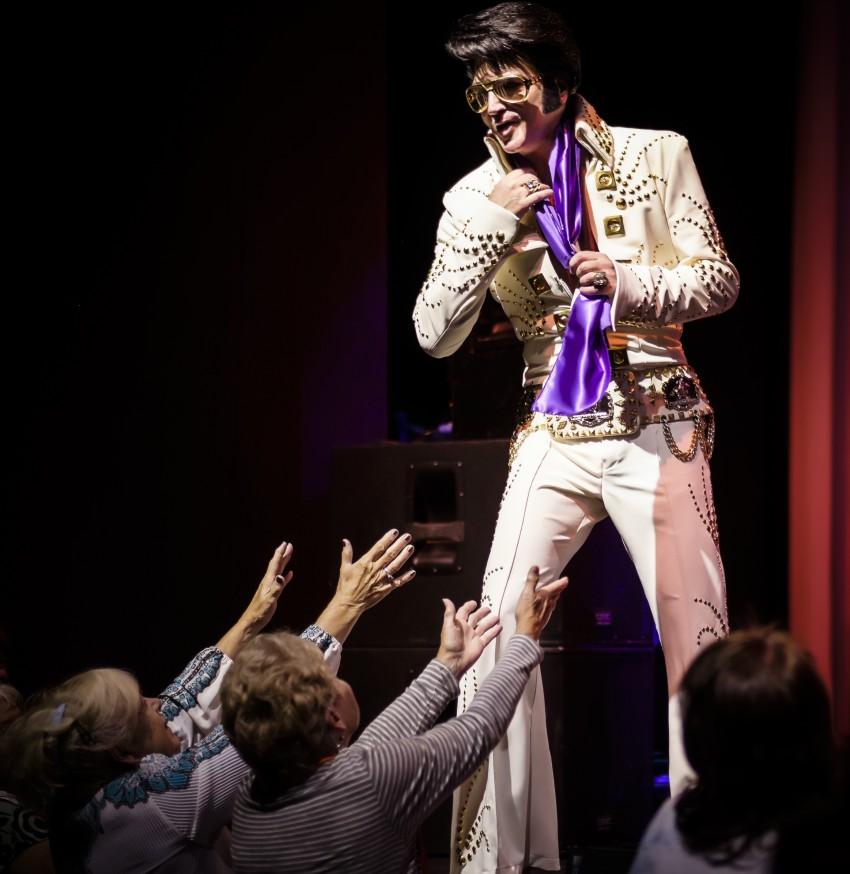 Hire Chance Tinder S Tribute To Elvis Presley Elvis