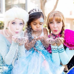 Character Party Time - Princess Party in Anaheim, California