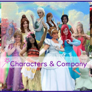 Characters & Company  - Princess Party in Griffith, Indiana