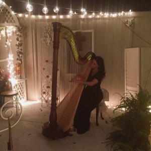 Charla Murray, Harpist - Harpist / Tea Party in Gadsden, Alabama