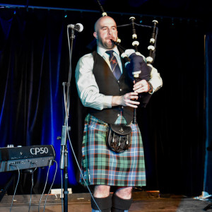 Charles-David Mitchell - Bagpiper in Kingston, Ontario