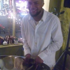 Charleston Sarjeant - Steel Drum Player in Boston, Massachusetts
