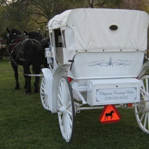 Cheyenne Crossing Carriage and Wagon Rides - Horse Drawn Carriage in Pocatello, Idaho