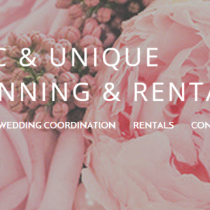 Chic & Unique Event Planning and Rentals - Wedding Planner in Milwaukee, Wisconsin