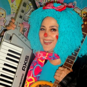 Chickabilly Chick Rocks Kids Music Show - Clown / Singing Pianist in Los Angeles, California