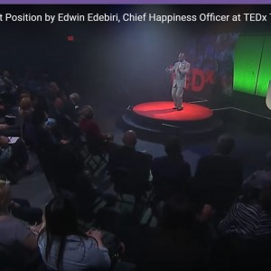 Edwin Edebiri, MBA, Chief Happiness Officer - Motivational Speaker / Leadership/Success Speaker in Sacramento, California