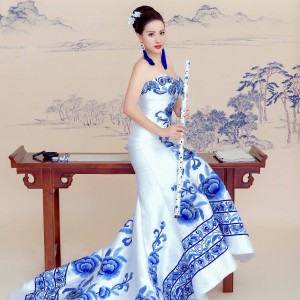 Jennifer Zhang, Chinese Bamboo Flute (Dizi) Player & Singer - Asian Entertainment / Wedding Singer in Chicago, Illinois