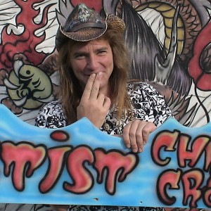 Chris Crash - Airbrush Artist in Penticton, British Columbia