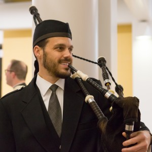 Christian Hunter - Bagpiper in Chagrin Falls, Ohio