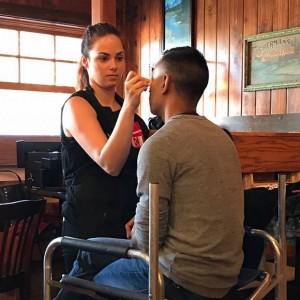 Christina Lyons makeup artist
