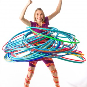 Christina the Crazy Hooper - Circus Entertainment / Children's Party Entertainment in Victoria, British Columbia