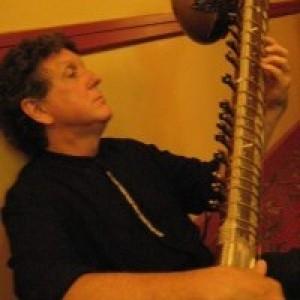 "Chuck Morrow as ""Austin Sitar"" - Sitar Player / Wedding Band in Wimberley, Texas"