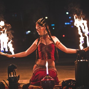 Ciara Blossom - Fire Dancer in Austin, Texas