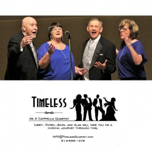 Timeless A Cappella Quartet - A Cappella Group in Cincinnati, Ohio