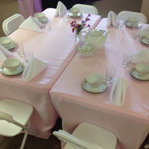 Cincinnati Tea Parties - Party Rentals in Mason, Ohio