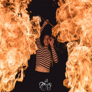 Cinder-ella - Fire Performer in Orlando, Florida