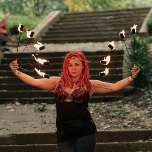 Circus Fire Performance Artist - Fire Performer in Baltimore, Maryland