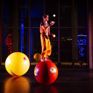 Circusball walker and juggler - Balancing Act / Circus Entertainment in Plano, Texas