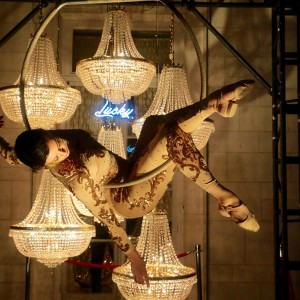 Cirque Du Nuit - Aerialist in New York City, New York