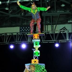 Cirque Rola Bola Balancing Act - Balancing Act in Orlando, Florida