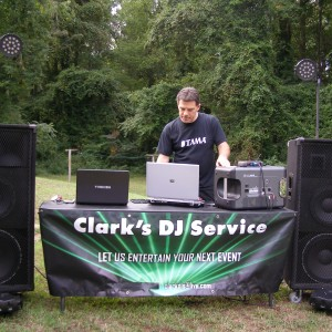 Clark's DJ Service - Mobile DJ in Annapolis, Maryland