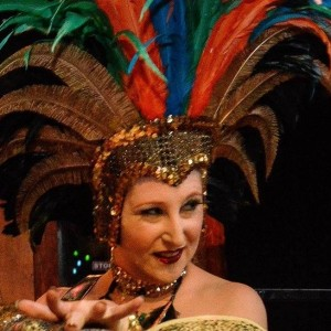 InVina Veritas, burlesque artist - Burlesque Entertainment in Austin, Texas
