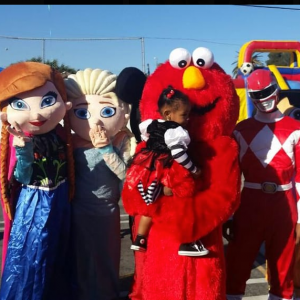 Funnest Costumed Characters
