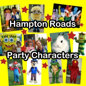 Hampton Roads Party Characters - Costumed Character / Cartoon Characters in Yorktown, Virginia