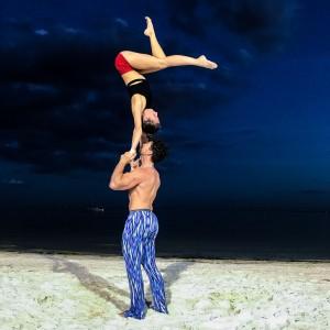 Coast-2-Coast Duo - Acrobat in Sarasota, Florida