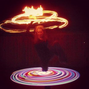 Coco - Fire Performer in Fort Collins, Colorado