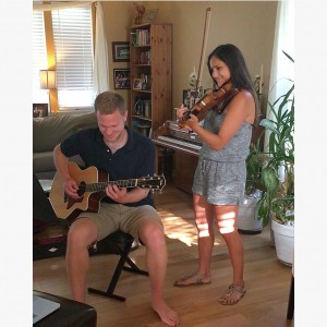 Cole and Lina - Acoustic Band in Champaign, Illinois