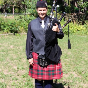 Coleen Power - Piper - Bagpiper in Oakville, Ontario