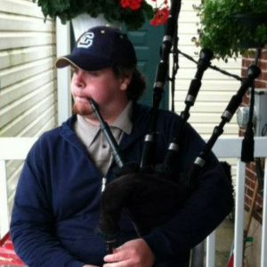 Colin Donahue bagpipes - Bagpiper in Olmsted Falls, Ohio