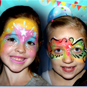 Color Me Crazy Facepainting - Face Painter / Outdoor Party Entertainment in Hope, Kansas