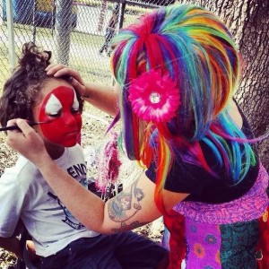 Colorful Day Face Painting and Parties - Face Painter in Orlando, Florida