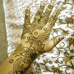 Colors of henna