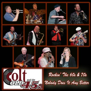 Colt and the Old 45s - Oldies Music in Frisco, Texas