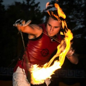 Colton Ames Windham - Fire Performer in Austin, Texas