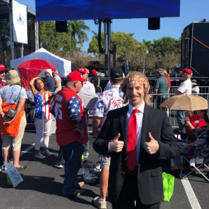 Trump Impressionist - Donald Trump Impersonator in Fort Lauderdale, Florida