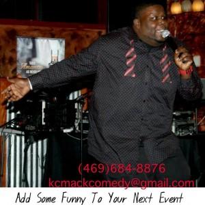Comedian KC Mack