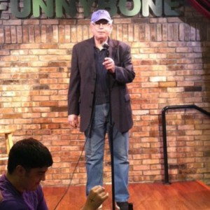 Comedian Terry Edgette / Father Time
