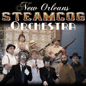 New Orleans Steamcog Orchestra - Dixieland Band in New Orleans, Louisiana