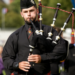 Conor Fabrycki - Bagpiper in Fiskdale, Massachusetts