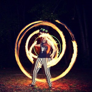 Coriography Performance Arts - Fire Performer in Athens, Georgia