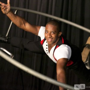 Cornell Freeney German Wheel - Acrobat in Chicago, Illinois