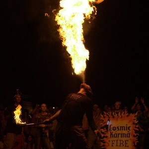 Cosmic Karma Fire - Fire Dancer in Oneonta, New York
