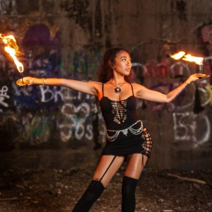 Cosmic Natalie - Fire Dancer in Philadelphia, Pennsylvania