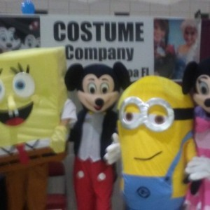 Costume Company Characters - Costume Rentals / Princess Party in Cocoa, Florida